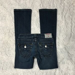 True Religion Tony Lean Boot Cut jeans sz 24